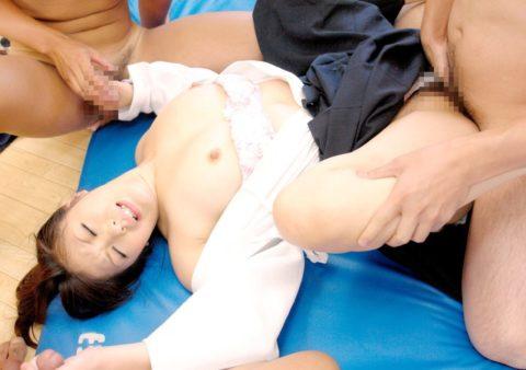 【エロ画像】巨乳剣道女子さん、道着を脱いだらこうなります。。汗ヤバそうwwwww・5枚目