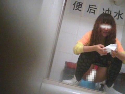 【盗撮】中国の「女子トイレ」が盗撮の宝庫だと話題に。。これはヒドイ・7枚目