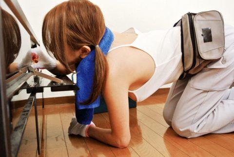 【エロ画像】肉体労働系女子の作業服エロ画像ってこんなにエロかったの?wwwww・7枚目