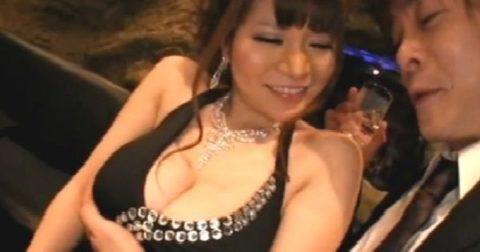 【エロ画像】キャバ嬢まんさん、セクハラされても笑ってやり過ごすwwwwwww・8枚目