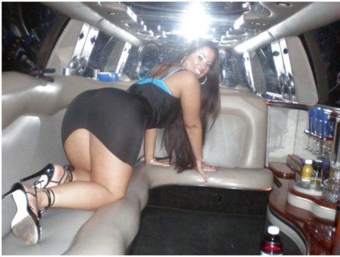 【エロ画像】流行りの リムジン女子会 で酒に飲まれた女の末路。。・21枚目