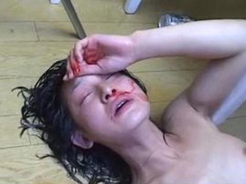 【エロ画像】女をボコボコにしないと興奮しない男が撮影した画像・・・・・・1枚目