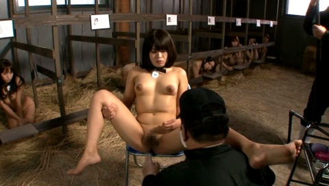 性奴隷にされてしまった女さん、買われてこうなる運命です。。これはヒドイ(エロ画像)・1枚目