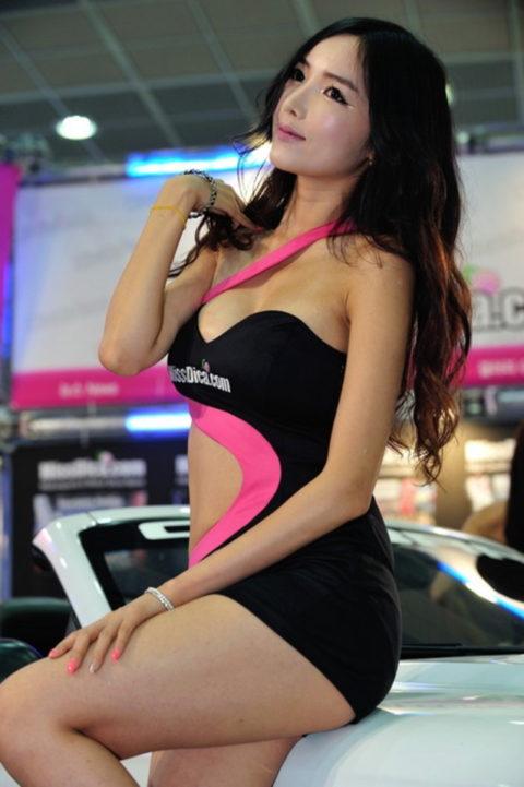 韓国の超絶美人なキャンギャルさん、顔も身体も最強レベルやった(エロ画像38枚)・11枚目