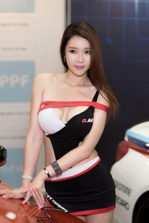 韓国の超絶美人なキャンギャルさん、顔も身体も最強レベルやった(エロ画像38枚)・13枚目