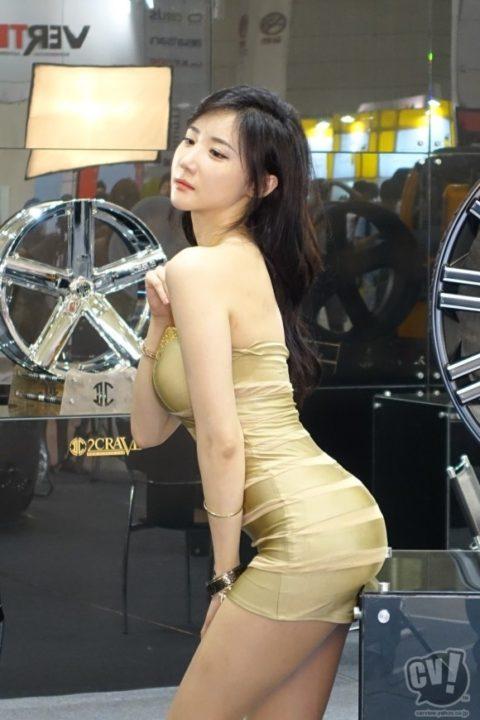 韓国の超絶美人なキャンギャルさん、顔も身体も最強レベルやった(エロ画像38枚)・19枚目