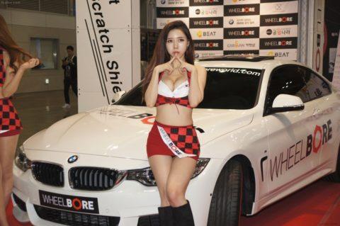 韓国の超絶美人なキャンギャルさん、顔も身体も最強レベルやった(エロ画像38枚)・20枚目