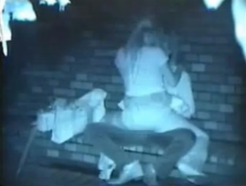 【エロ画像】夜の「青姦スポット」に赤外線カメラを仕込んだ結果wwwwwwww・26枚目