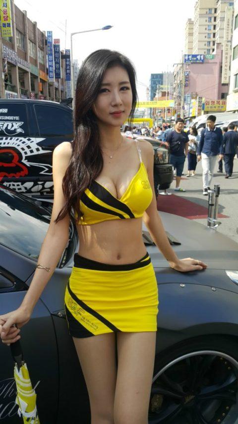 韓国の超絶美人なキャンギャルさん、顔も身体も最強レベルやった(エロ画像38枚)・32枚目