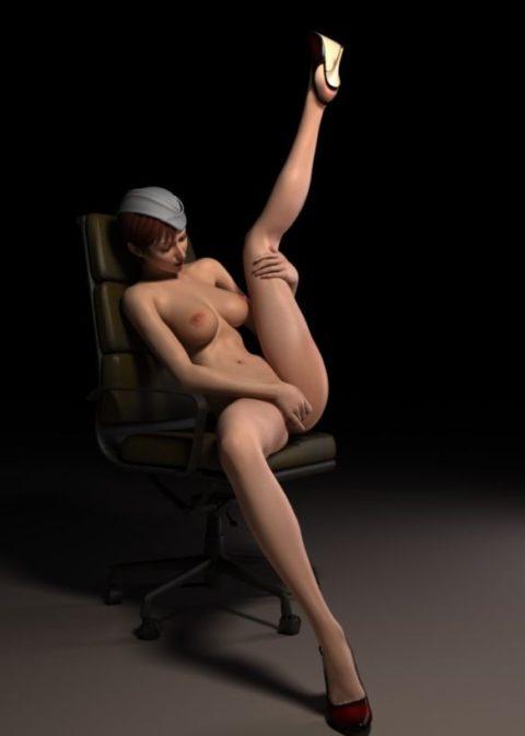 【3DCG】リアル感がドを超えてしまった二次元エロ画像。。エロ怖いwwwwww・36枚目