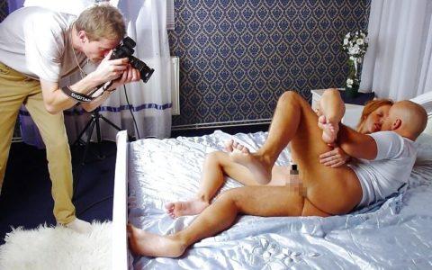 【海外エロ】本場のポルノ撮影現場が放送された。普通にドキュメントやんwwwww・13枚目