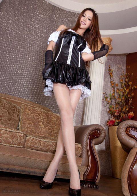 【コスプレ】露出度が異常な台湾メイドまんさんのエロ画像まとめwwwwwww・12枚目