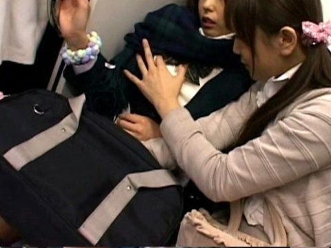 【チカン】女性専用車両でも「痴漢被害」が発生した瞬間がこちら。。(画像あり)・1枚目