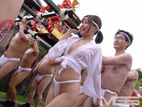 フンドシ女子(10代)がお祭りで撮影され晒された…これアウトじゃない??(画像あり)・10枚目