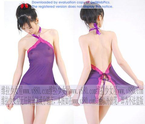 「女性用下着通販サイト」に掲載されてるモデルさんの露出度がヤバい・・・(31枚)・7枚目