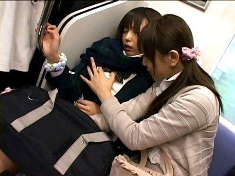 【痴漢エロ】まさかの「女性専用車両」での痴漢…犯人はメス・3枚目