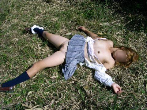 レイプされた女さんガチで道端にポイッとされてる・・・・・(画像あり)・10枚目