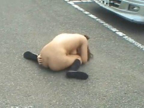 レイプされた女さんガチで道端にポイッとされてる・・・・・(画像あり)・11枚目