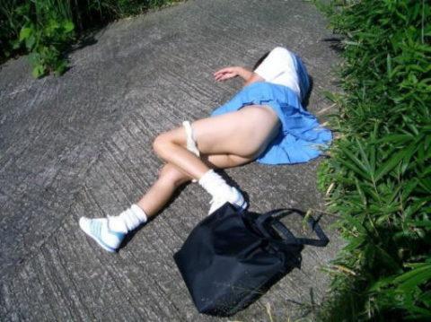 レイプされた女さんガチで道端にポイッとされてる・・・・・(画像あり)・6枚目