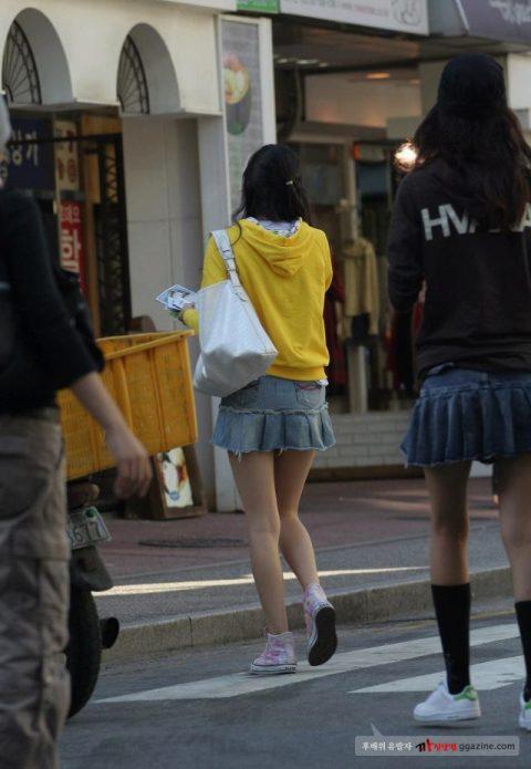 【韓国エロ】隣国に行ったワイ、街中で撮りまくった結果wwwwww(100枚)・26枚目