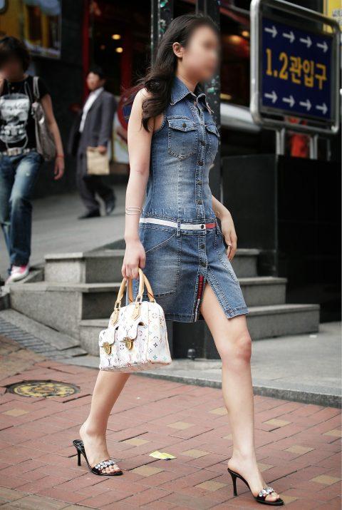 【韓国エロ】隣国に行ったワイ、街中で撮りまくった結果wwwwww(100枚)・32枚目