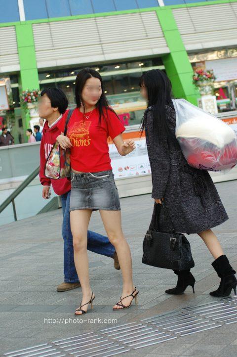 【韓国エロ】隣国に行ったワイ、街中で撮りまくった結果wwwwww(100枚)・34枚目