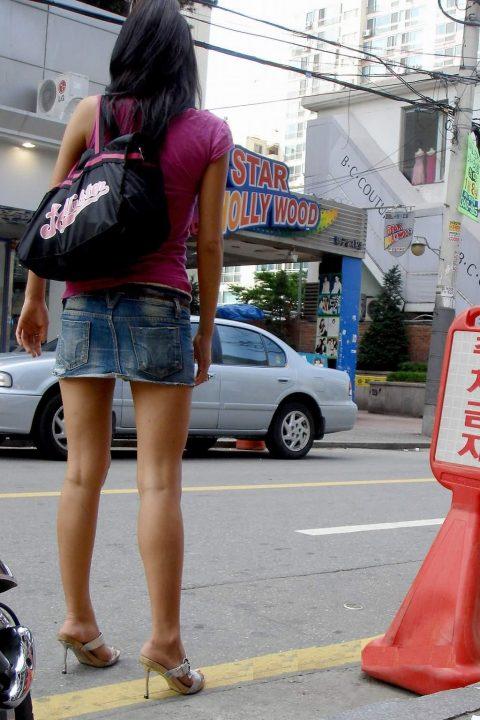 【韓国エロ】隣国に行ったワイ、街中で撮りまくった結果wwwwww(100枚)・48枚目