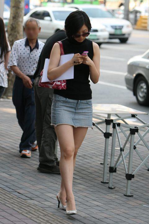 【韓国エロ】隣国に行ったワイ、街中で撮りまくった結果wwwwww(100枚)・52枚目
