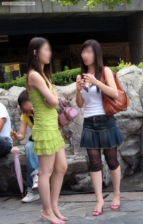 【韓国エロ】隣国に行ったワイ、街中で撮りまくった結果wwwwww(100枚)・54枚目