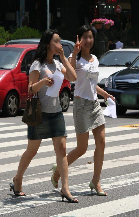 【韓国エロ】隣国に行ったワイ、街中で撮りまくった結果wwwwww(100枚)・67枚目