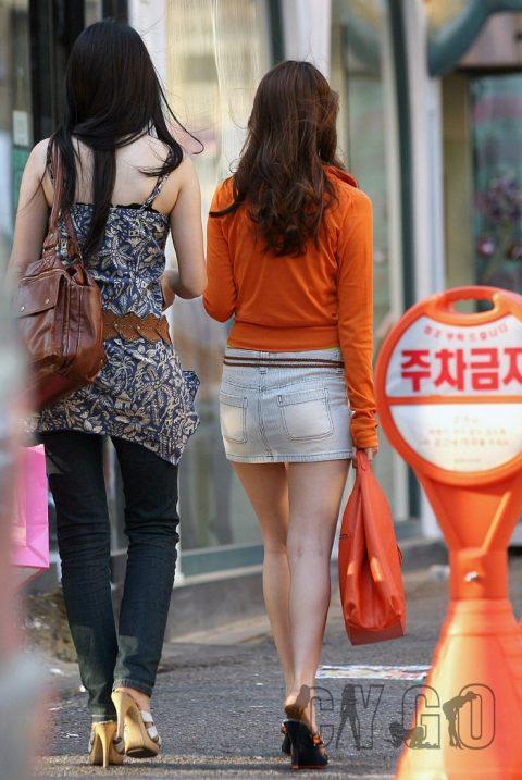 【韓国エロ】隣国に行ったワイ、街中で撮りまくった結果wwwwww(100枚)・74枚目