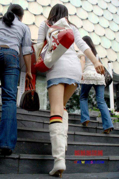 【韓国エロ】隣国に行ったワイ、街中で撮りまくった結果wwwwww(100枚)・78枚目