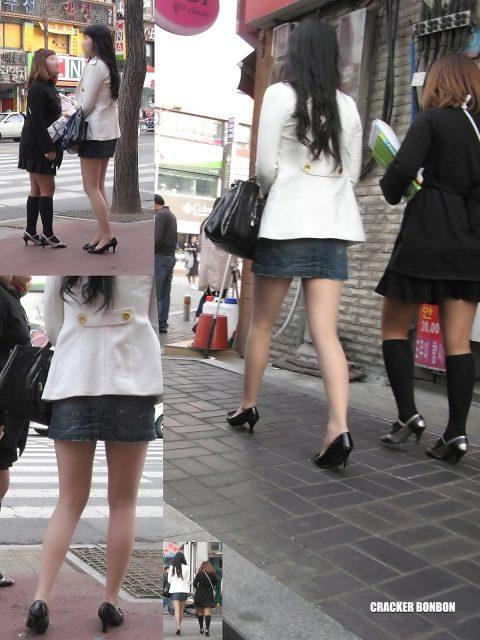 【韓国エロ】隣国に行ったワイ、街中で撮りまくった結果wwwwww(100枚)・79枚目
