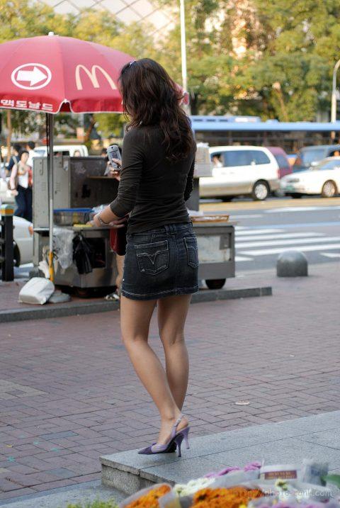【韓国エロ】隣国に行ったワイ、街中で撮りまくった結果wwwwww(100枚)・81枚目