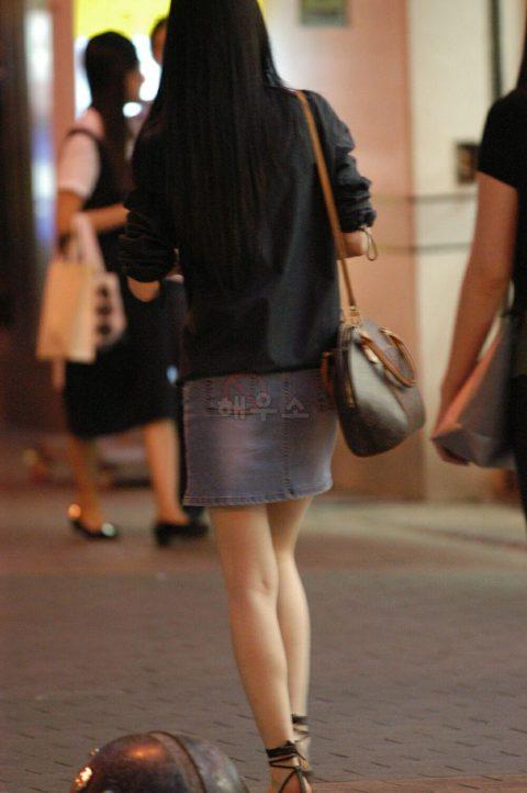 【韓国エロ】隣国に行ったワイ、街中で撮りまくった結果wwwwww(100枚)・84枚目