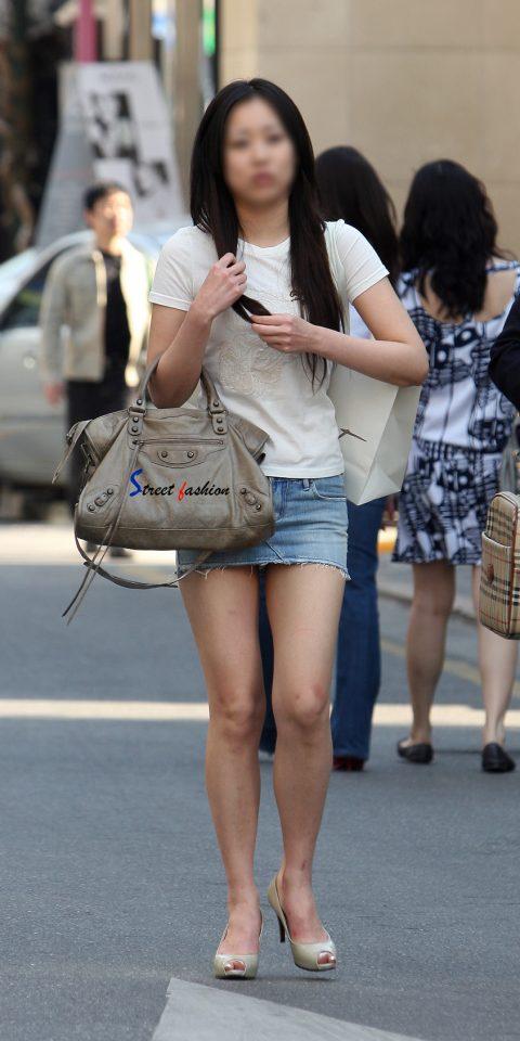 【韓国エロ】隣国に行ったワイ、街中で撮りまくった結果wwwwww(100枚)・95枚目