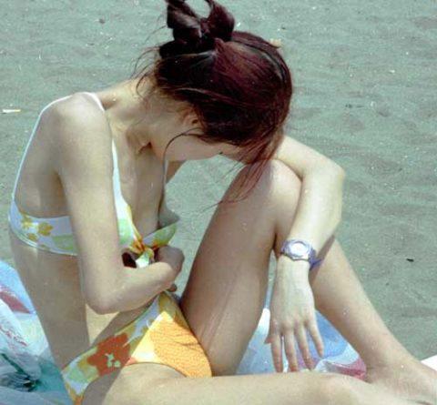 【ポロリハプニング】乳首がハッキリ見えた女性たちの決定的瞬間(142枚)・21枚目