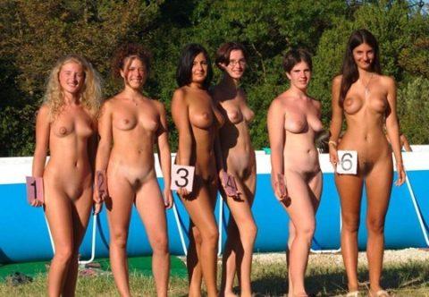 【エロ画像】海外の「全裸ミスコン」とかいうガチ天国なイベントwwwwww・10枚目