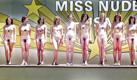 【エロ画像】海外の「全裸ミスコン」とかいうガチ天国なイベントwwwwww・11枚目