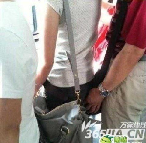 「盗撮・痴漢」を激写したユーザー、写真をアップして犯人を晒すwwwww(画像あり)・13枚目