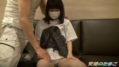 【低身長】チア部の女の子、デカチンで感じまくる初めてのパパ活wwwww(動画)・5枚目