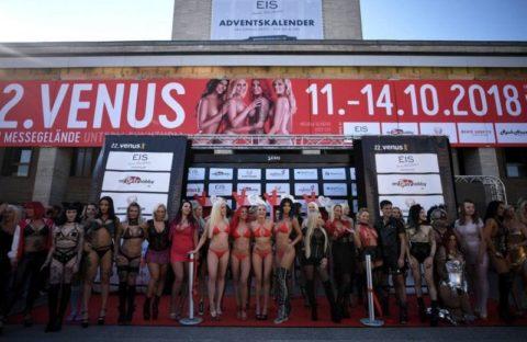 【エロ画像】ドイツの「Venus Berlin」とかいうイベントがエロエロやったwwwww・35枚目