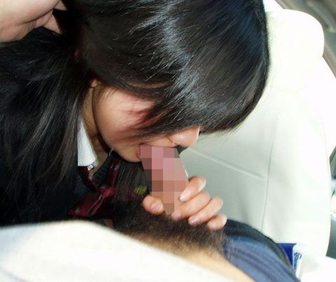【ロリフェラ】犯罪臭が半端ない女の子たちのフェラチオ。。(GIFエロ)・107枚目