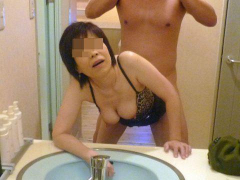 【素人エロ】ラブホの鏡で撮影した素人女子のエロ画像まとめ(56枚)・16枚目