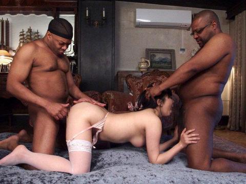 黒人チンポさん、日本人女の子を複数人で犯してしまう・・・(画像あり)・21枚目
