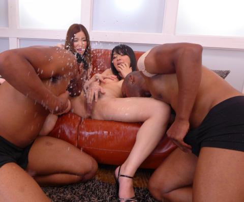 黒人チンポさん、日本人女の子を複数人で犯してしまう・・・(画像あり)・4枚目