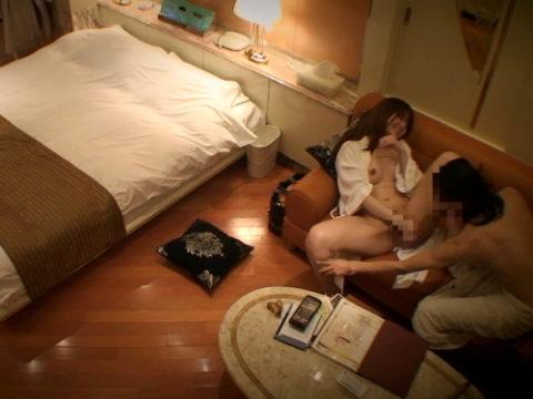 【盗撮】安いラブホでヤッたカップルさん、しっかり撮影されるwwwww
