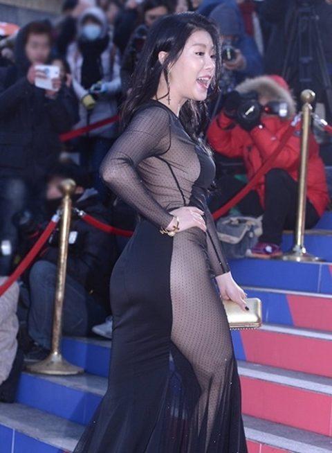 【ポロリ】レッドカーペットでチラチラ見せる有名女優の手口がこちら。(29枚)・28枚目