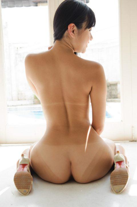 【尻フェチ】最もエロく見える日焼け跡のケツがヤバすぎたwwwwww・10枚目