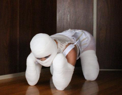「犬ダルマ緊縛」とかいう海外のエロ画像。これはエロい芸術です(エロ画像)・12枚目